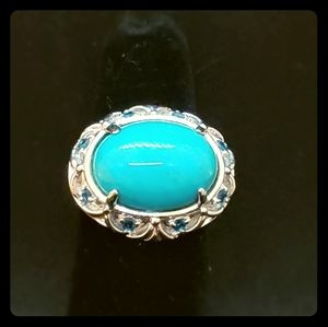 Jewelry - Turquoise Sterling Silver Ring